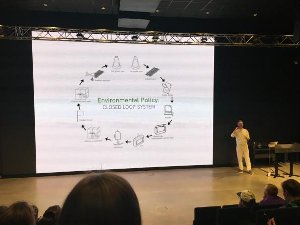 Bilde fra forelesning hos Varner